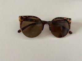 H&M Okrągłe okulary przeciwsłoneczne Wielokolorowy