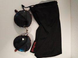 Primark Gafas de sol redondas negro-marrón