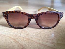 Glasses beige-brown