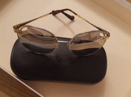 Louis Vuitton Oval Sunglasses silver-colored