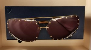 Louis Vuitton Gafas de piloto color oro