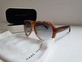 Marc Jacobs Occhiale da sole spigoloso marrone chiaro Tessuto misto