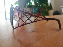 Mariella Burani Okulary retro purpurowy