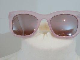 Sonnenbrille  matt rosa Gestell Spiegelglas Cat Eye von Zara