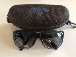 Maui Jim Ovale zonnebril leigrijs