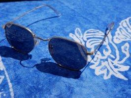 Meller Angular Shaped Sunglasses black-gold-colored