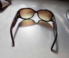 Michael Kors Oval Sunglasses brown-black brown