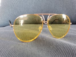 Butterfly Glasses yellow