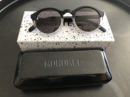 Monokel Eyewear Lunettes de soleil rondes gris anthracite