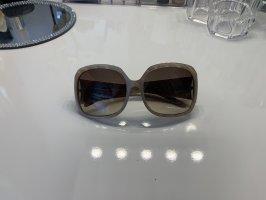 Montblanc Hoekige zonnebril beige