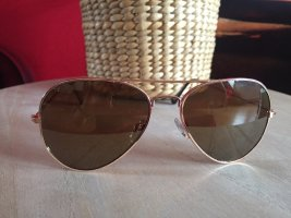 Unbekannte Marke Aviator Glasses bronze-colored