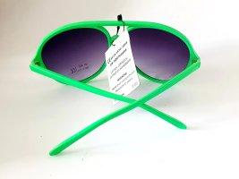 Sonnenbrille Pilotenbrille grün