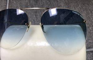 Porsche Design Retro Glasses gold-colored