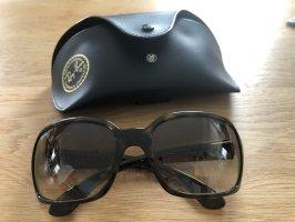 Ray Ban Gafas de sol ovaladas negro-marrón oscuro