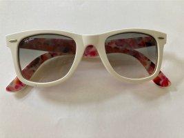 Ray Ban Square Glasses white