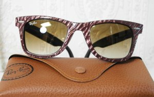 Ray Ban Glasses brown violet-blackberry-red acetate