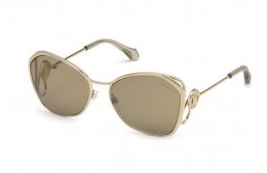 Roberto Cavalli Butterfly Glasses gold-colored