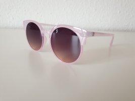 Even & Odd Occhiale da sole rotondo rosa chiaro Materiale sintetico
