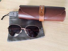 Sonnenbrille roségold