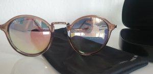 Sonnenbrille rund mit gespiegelten Gläsern - neu!