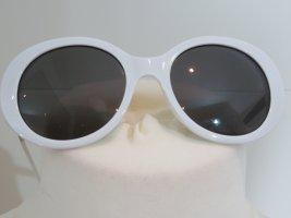 Sonnenbrille rund weiss Zara rund oval