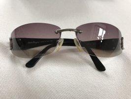 Salvatore ferragamo Kwadratowe okulary przeciwsłoneczne Wielokolorowy