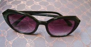 keine Angular Shaped Sunglasses black