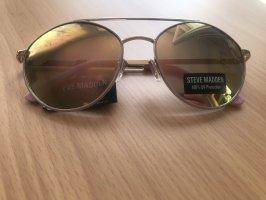 Steve Madden Aviator Glasses rose-gold-coloured
