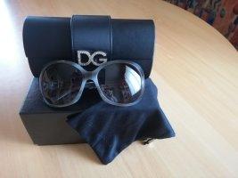 Dolce & Gabbana Ovale zonnebril veelkleurig