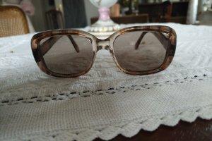 Original Vintage Kwadratowe okulary przeciwsłoneczne Wielokolorowy