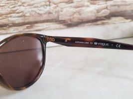 Vogue Gafas de sol ovaladas marrón