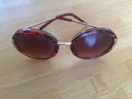 Asos Okrągłe okulary przeciwsłoneczne Wielokolorowy