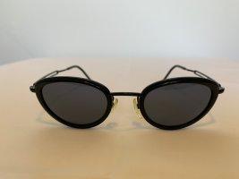 Calvin Klein Gafas de sol ovaladas negro metal