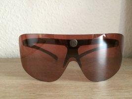 Sonnenbrille von Calvin Klein, sportlich,  dunkel rosé Linsen