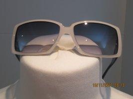 Sonnenbrille von Chanel in schwarz weiss Vintage