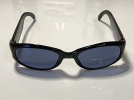 Christian Dior Ovale zonnebril zwart