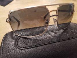 Chrome Hearts Glasses black-silver-colored