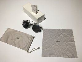 Dior Zonnebril zwart-zilver