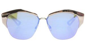 Dior Angular Shaped Sunglasses multicolored metal