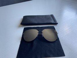 Bril zwart-zilver