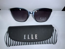 Elle Angular Shaped Sunglasses slate-gray-azure