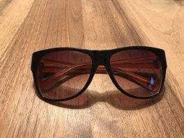 Gant Lunettes de soleil angulaires brun noir-orange