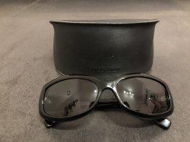 Giorgio  Armani Ovale zonnebril zwart