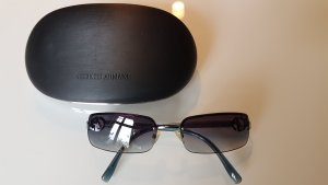 Armani Angular Shaped Sunglasses slate-gray