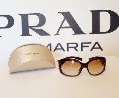 Giorgio  Armani Angular Shaped Sunglasses gold-colored-brown synthetic material