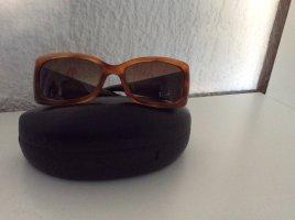 Givenchy Lunettes de soleil angulaires brun
