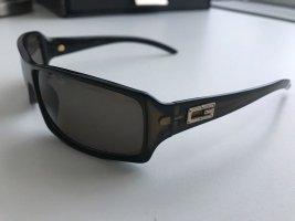 Gucci Vierkante bril donkergroen-zwart