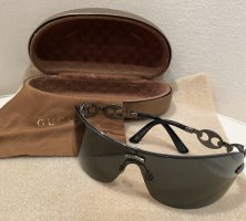 Gucci Lunettes taupe-gris anthracite