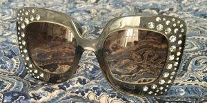 H&M Occhiale da sole spigoloso grigio-grigio scuro
