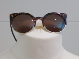 H&M Glasses brown-cognac-coloured synthetic material